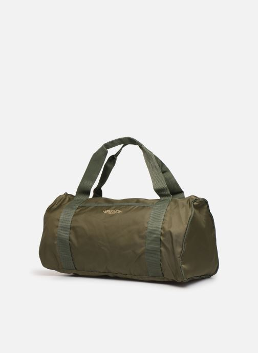 Bolsas de deporte Bensimon COLOR LINE COLOR BAG Verde vista del modelo