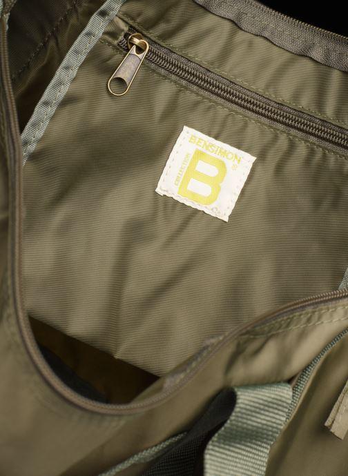 Borsa da palestra Bensimon COLOR LINE COLOR BAG Verde immagine posteriore