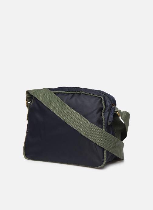 Bolsos de mano Bensimon COLOR LINE SMALL BESACE BAG Azul vista lateral derecha