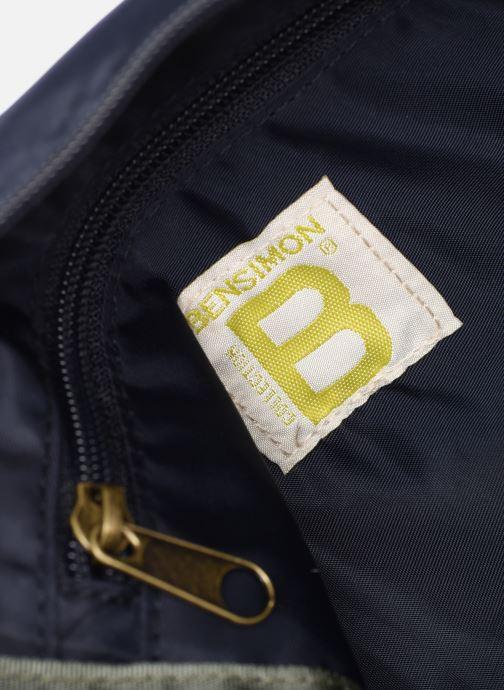 Handtassen Bensimon COLOR LINE SMALL BESACE BAG Blauw achterkant