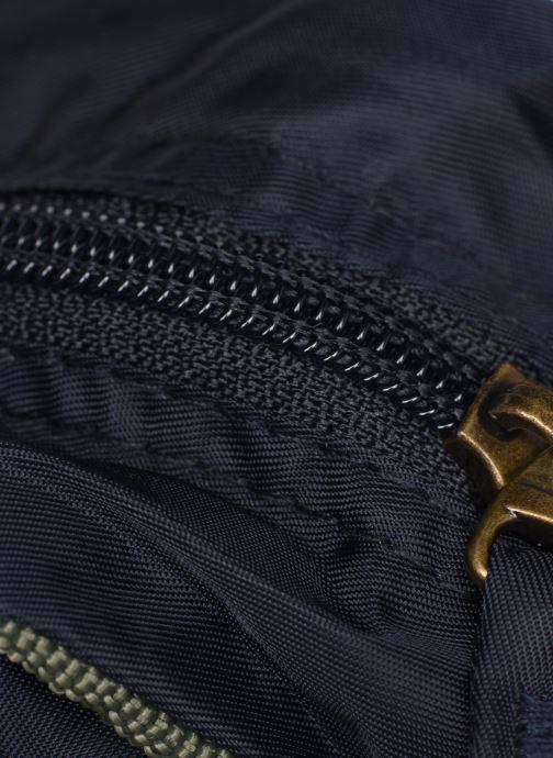 Bolsos de mano Bensimon COLOR LINE SMALL BESACE BAG Azul vista lateral izquierda