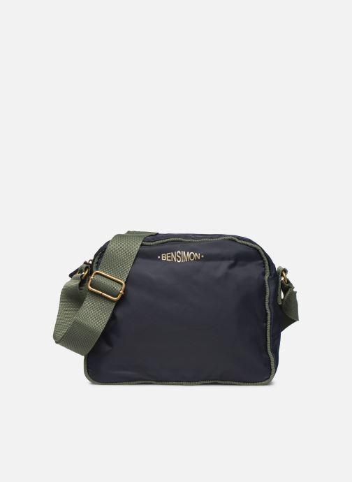 Handtassen Bensimon COLOR LINE SMALL BESACE BAG Blauw detail