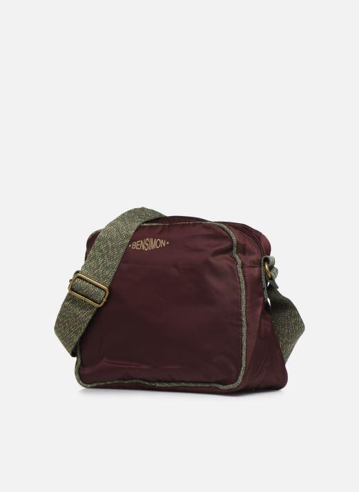 Handtassen Bensimon COLOR LINE SMALL BESACE BAG Paars model