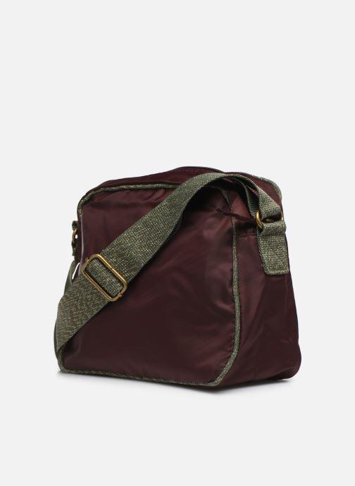 Sacs à main Bensimon COLOR LINE SMALL BESACE BAG Violet vue droite