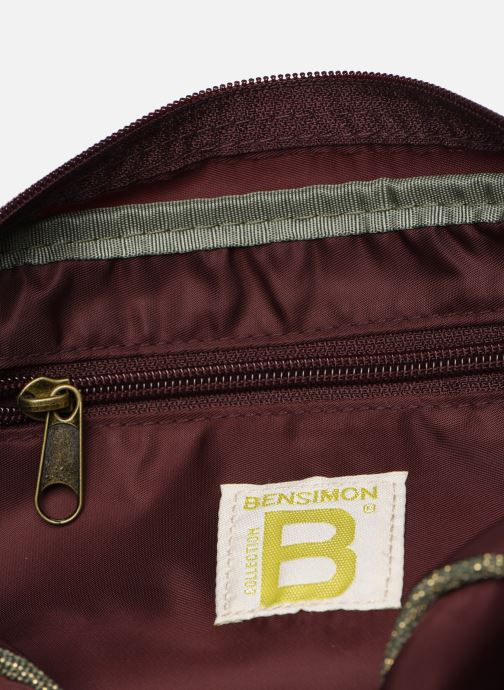 Handtaschen Bensimon COLOR LINE SMALL BESACE BAG lila ansicht von hinten