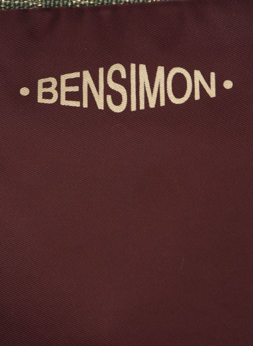Handtaschen Bensimon COLOR LINE SMALL BESACE BAG lila ansicht von links