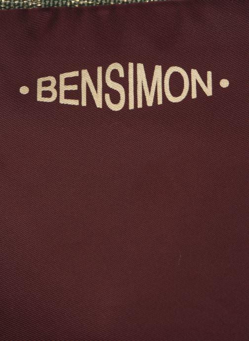 Sacs à main Bensimon COLOR LINE SMALL BESACE BAG Violet vue gauche
