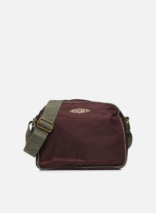 Handtassen Bensimon COLOR LINE SMALL BESACE BAG Paars detail