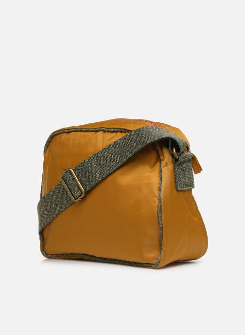 Handtaschen Bensimon COLOR LINE SMALL BESACE BAG gelb ansicht von rechts
