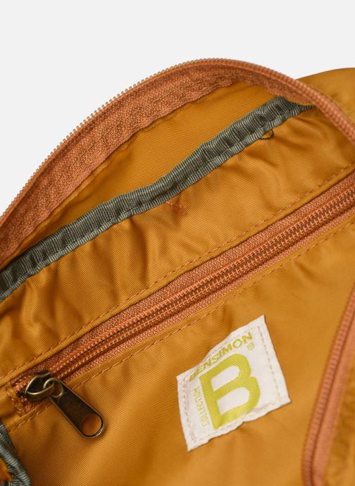 Handtaschen Bensimon COLOR LINE SMALL BESACE BAG gelb ansicht von hinten