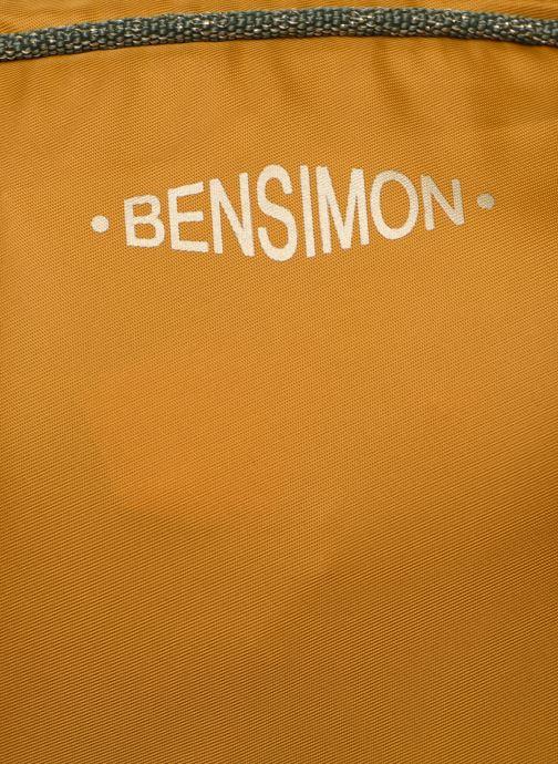Sacs à main Bensimon COLOR LINE SMALL BESACE BAG Jaune vue gauche