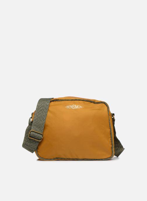 Sacs à main Bensimon COLOR LINE SMALL BESACE BAG Jaune vue détail/paire
