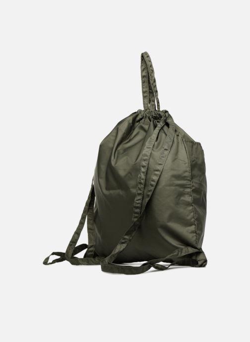Sacs à dos Bensimon SLIDING BAG Vert vue droite