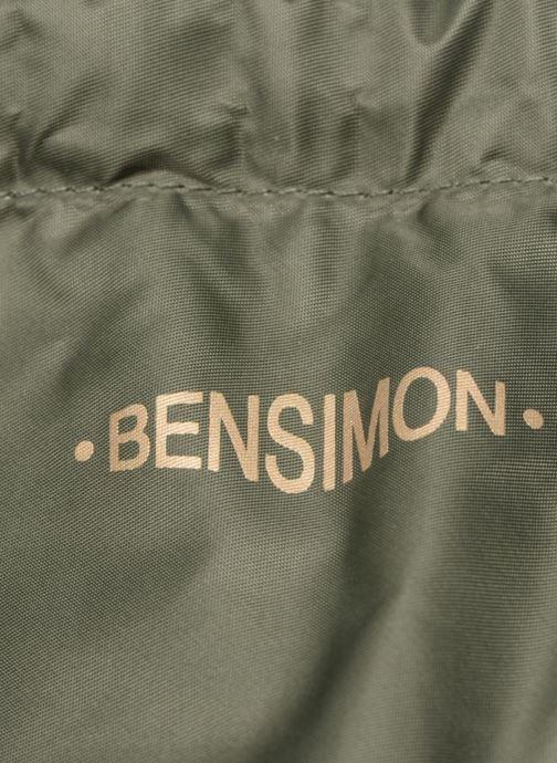 Sacs à dos Bensimon SLIDING BAG Vert vue gauche