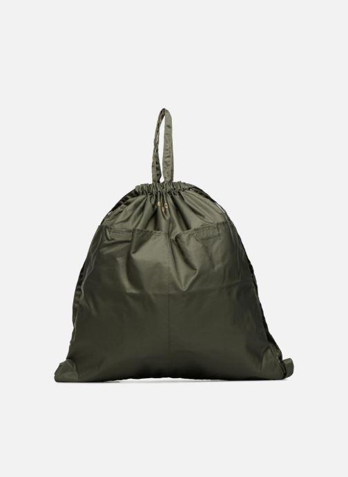 Sacs à dos Bensimon SLIDING BAG Vert vue détail/paire
