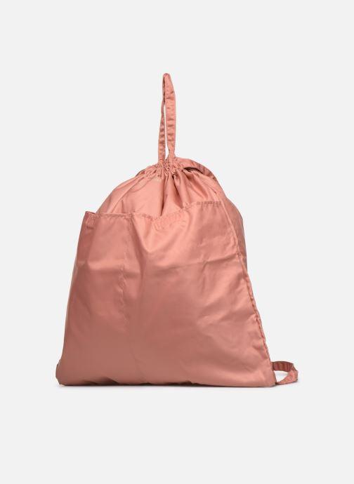 Zaini Bensimon SLIDING BAG Rosa modello indossato