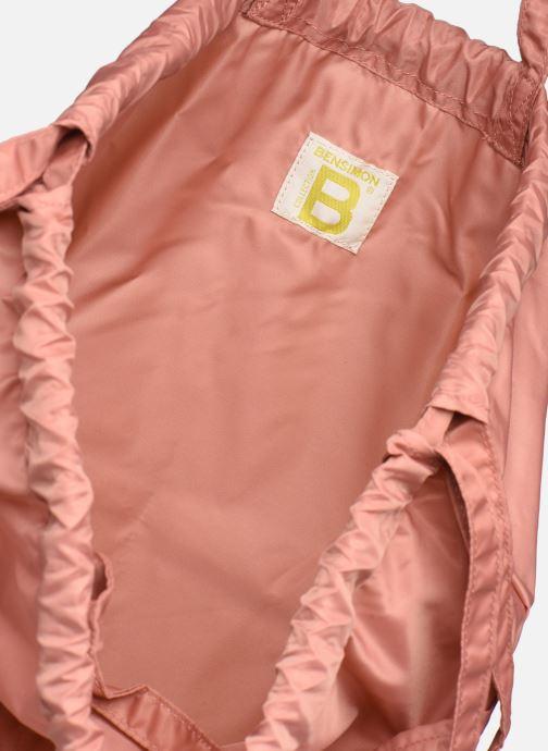 Rucksäcke Bensimon SLIDING BAG rosa ansicht von hinten