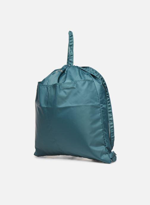 Rucksäcke Bensimon SLIDING BAG blau schuhe getragen