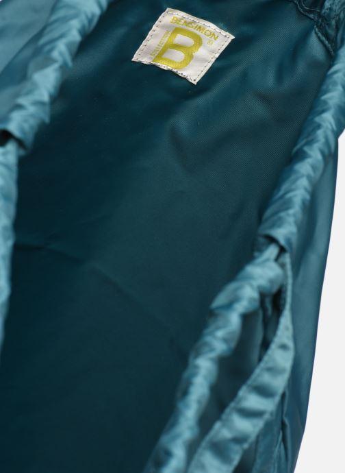 Rucksacks Bensimon SLIDING BAG Blue back view