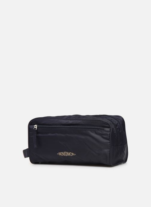 Luggage Bensimon TRAVEL LINE TOILETRY Blue model view