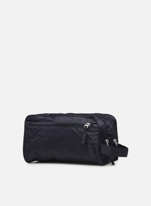 Luggage Bensimon TRAVEL LINE TOILETRY Blue view from the right
