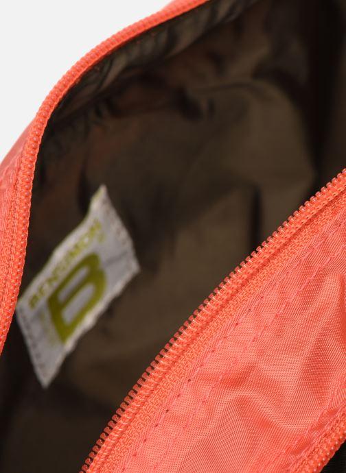 Reisegepäck Bensimon TRAVEL LINE TOILETRY rosa ansicht von hinten