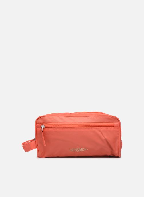 Luggage Bensimon TRAVEL LINE TOILETRY Pink detailed view/ Pair view
