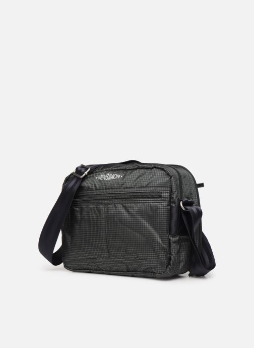 Handbags Bensimon WORKING LINE POCKET BAG Grey model view