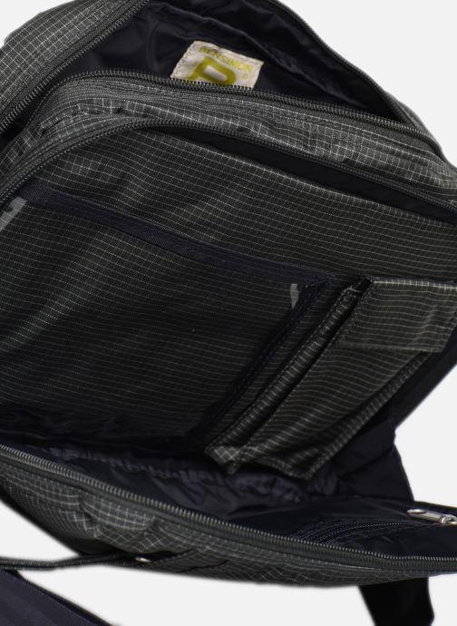 Handbags Bensimon WORKING LINE POCKET BAG Grey back view