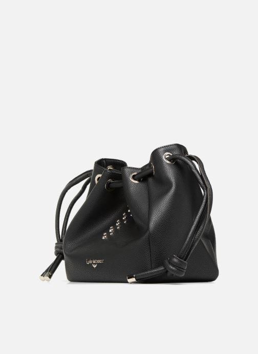 Sacs à main LPB /LES PETITES BOMBES SAC PORTE MAIN CLOUS Noir vue portées chaussures