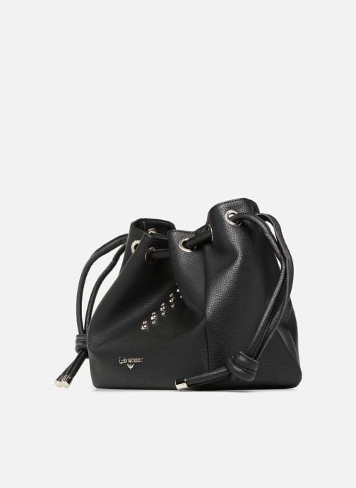 Bolsos de mano LPB -LES PETITES BOMBES SAC PORTE MAIN CLOUS Negro vista del modelo