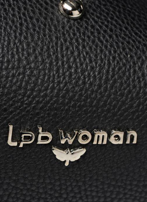 Bolsos de mano LPB Woman SAC PORTE MAIN CLOUS Negro vista lateral izquierda