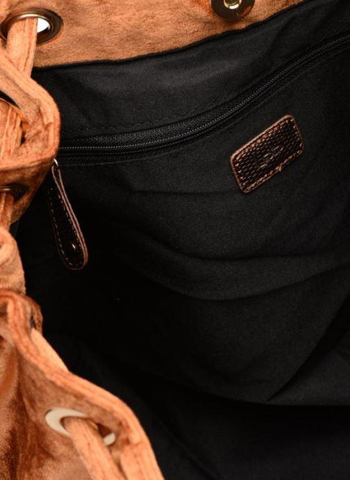Borse LPB -LES PETITES BOMBES SAC PORTE MAIN VELOURS Marrone immagine posteriore