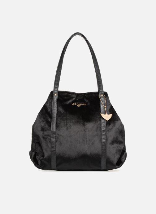 Sacs à main LPB Woman SHOPPER VELOURS Noir vue détail/paire