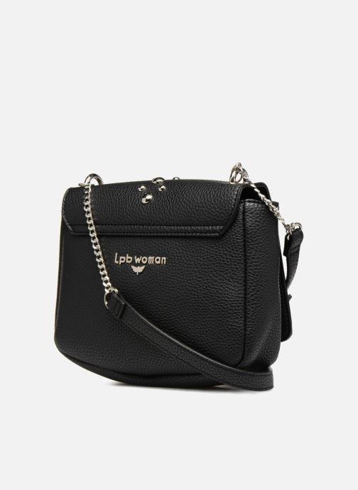 Bolsos de mano LPB Woman CROSSBODY CHAINE ROCK Negro vista lateral derecha