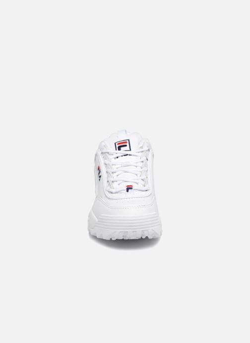 Sneakers FILA Disruptor Kids Bianco modello indossato