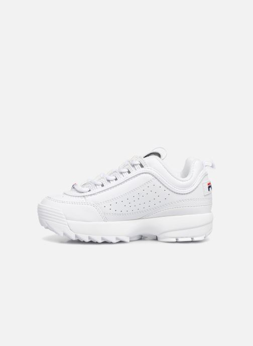 Sneakers FILA Disruptor Kids Bianco immagine frontale