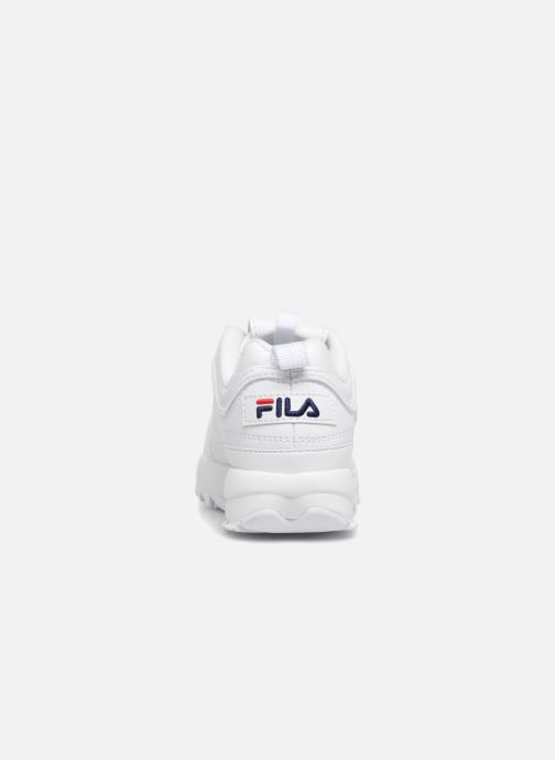 Baskets FILA Disruptor Kids Blanc vue droite