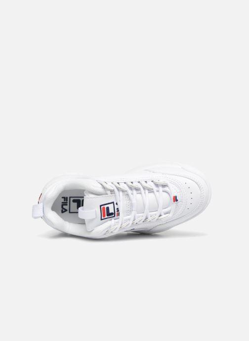 Sneaker FILA Disruptor Kids weiß ansicht von links