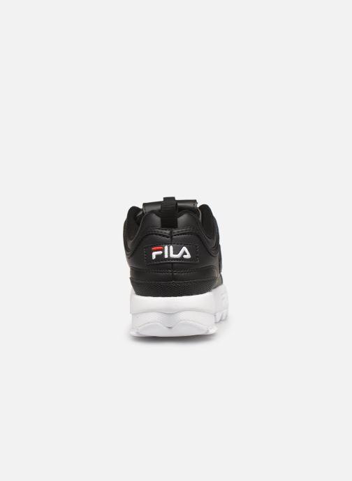 Baskets FILA Disruptor Kids Noir vue droite