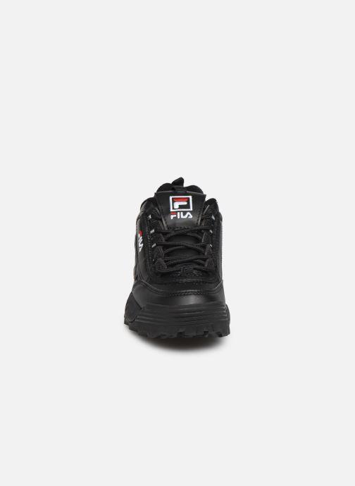 Sneakers FILA Disruptor Kids Nero modello indossato