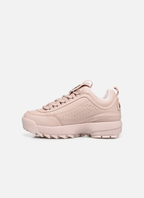 Baskets FILA Disruptor Kids Rose vue face