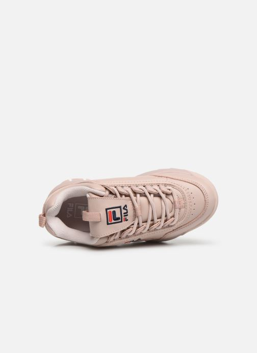 Baskets FILA Disruptor Kids Rose vue gauche