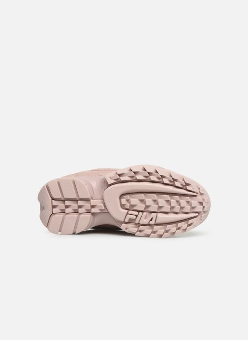 Baskets FILA Disruptor Kids Rose vue haut