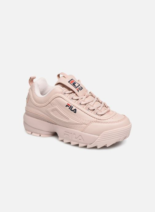 Baskets FILA Disruptor Kids Rose vue détail/paire