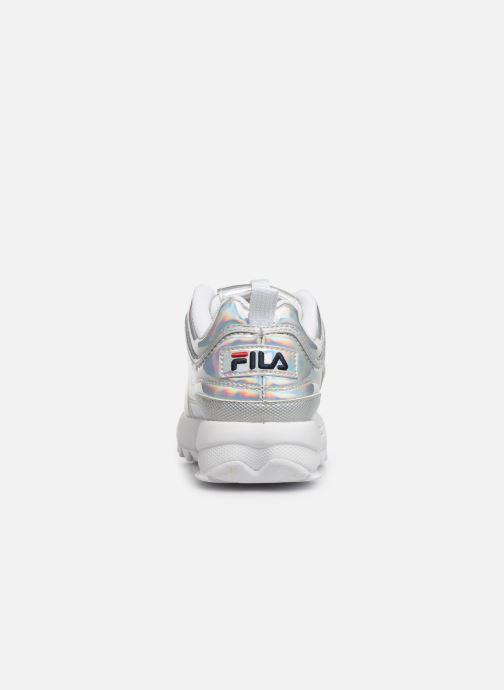 Baskets FILA Disruptor Kids Argent vue droite