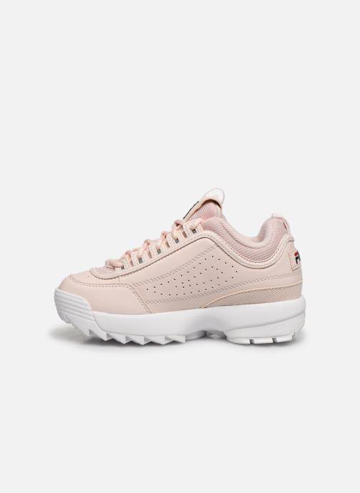Sneaker FILA Disruptor Kids rosa ansicht von vorne