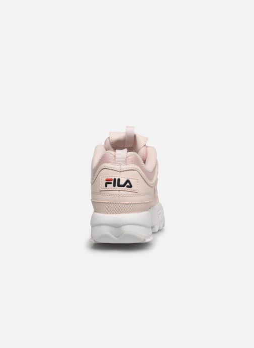 Sneaker FILA Disruptor Kids rosa ansicht von rechts