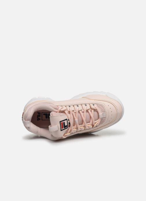 Sneaker FILA Disruptor Kids rosa ansicht von links