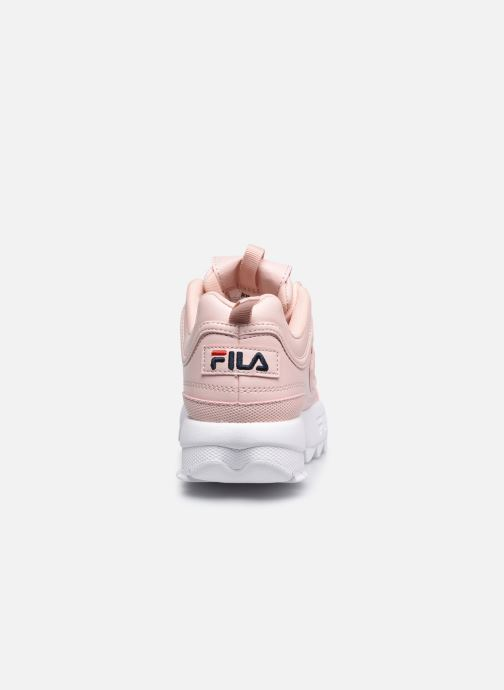 Baskets FILA Disruptor Kids Rose vue droite